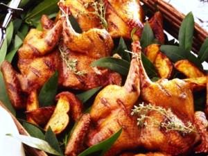 Приготовление блюда Цыплята табака