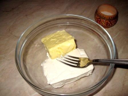 печенье быстро слоеного из творожного теста