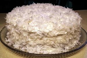 Торт Рафаелло по быстрому