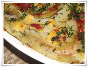 как приготовить запеканку из картофеля