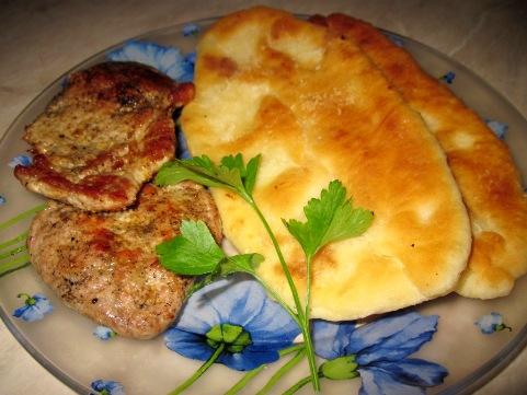 Тонкие пирожки с картошкой жареные с фото
