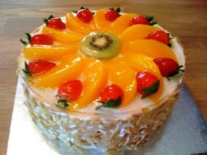 Торт «Легкий бисквит»