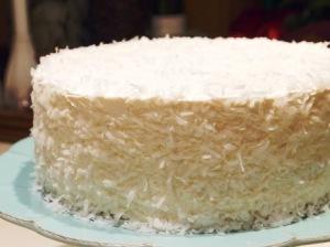 Быстрый кокосовый торт «Рафаэлло»
