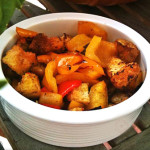 Хлебный салат с запеченными овощами – традиционное блюдо Юга Италии