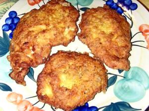 Котлеты куриные рубленные с сыром