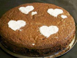 Шоколадно-фруктовый торт. Простой рецепт вкусного десерта