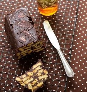 Шоколадный торт без выпечки - Королевский десерт