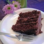 Шоколадный торт с шоколадным кремом