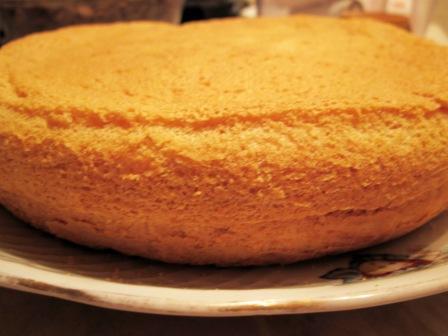 Рецепт бисквита для торта с фото с крахмалом