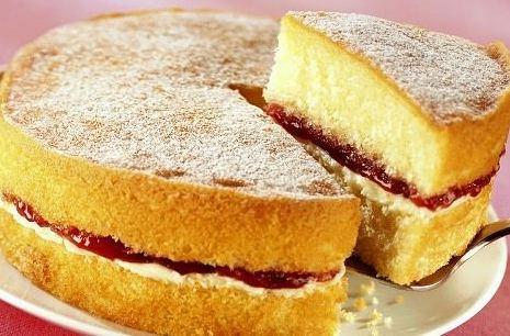 Фруктовый торт без муки по быстрому