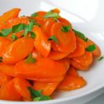 Глазированная морковь с лимоном – изысканный гарнир