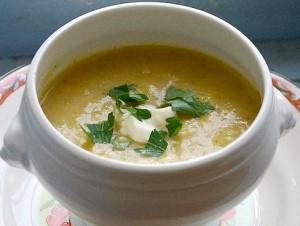 Овощной крем-суп - вкусно, полезно, красиво
