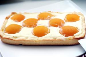 Творожный пирог Снежный Абрикос