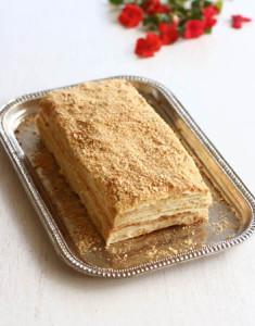 Ленивый торт Наполеон