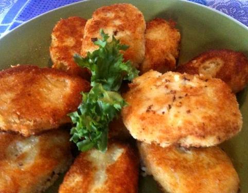Быстрые картофельные крокеты по итальянски