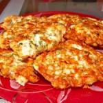 Куриные оладьи с сыром на кефире – быстро и вкусно!