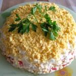 Слоеный салат «Море удовольствия»