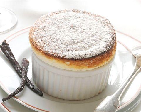 Ванильное суфле - восхитительный десерт родом из Франции