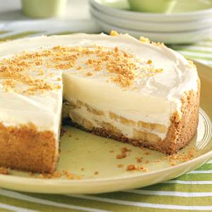Банановый торт без выпечки Трюфельдинья
