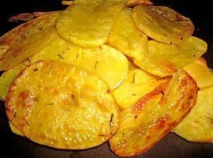хрустящая картошка в пряном масле из духовки - 3