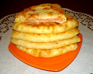 Сырные лепёшки на скорую руку за 5 минут!