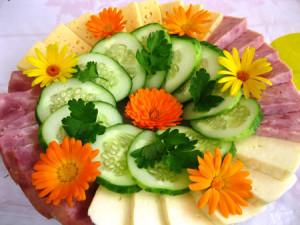 Красивые нарезки из овощей