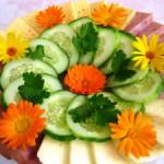 Красивые нарезки из овощей – идеи салатов и овощных нарезок