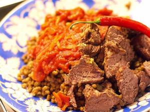Машкучура – узбекское блюдо