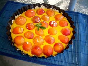 Золотой пирог с абрикосами Киевская Русь