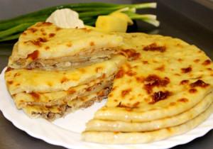 Осетинские пироги с мясом Фыдджын 1