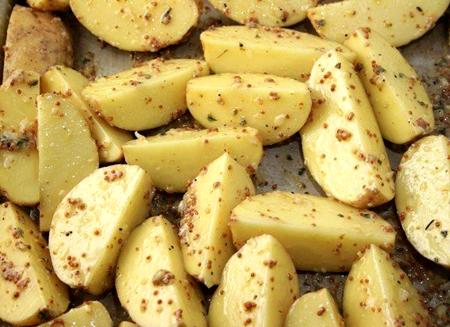 Картофель, запеченный в горчице – потрясающий гарнир 3