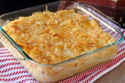 Веселый картофель - вкуснейшая запеканка под румяной сырной корочкой