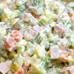 Салат «Столичный» — популярный и вкусный