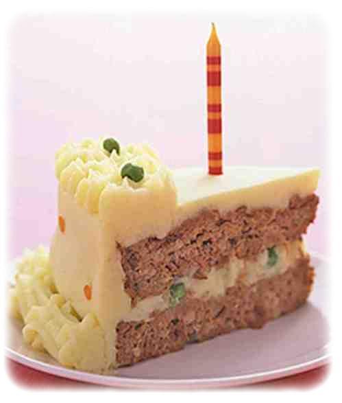 Торт мясной с фото