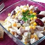Вкусный салат за 15 минут