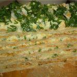 Пирог «Праздничный» — сытное блюдо по простому рецепту