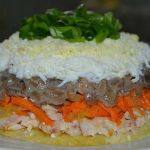 Салат «Каприз» украсит праздник