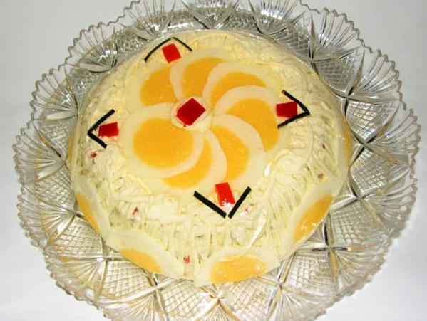 """Торт-салат """"Валентина"""" - необыкновенно вкусно и очень быстро!"""